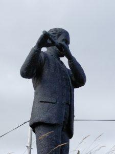O'Neill Statue Up Close