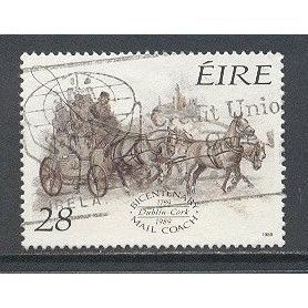 Stamp Commemorating Bicentenary of Irish Mail Coach Service
