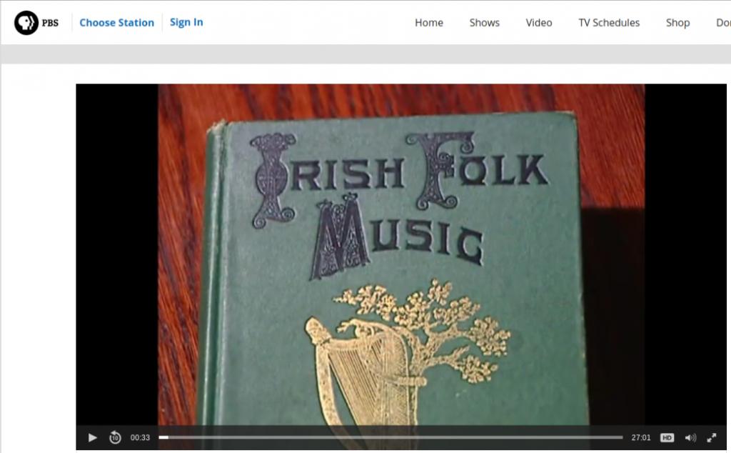 Francis O'Neill Documentary on PBS