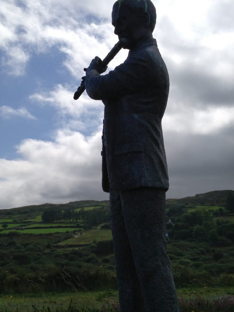 Francis O'Neill Statue in Tralibane, Co. Cork