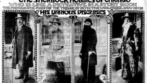 Nov. 25, 1906, edition of the Chicago Daily Tribune highlighting Wooldridge's many disguises. (Chicago Tribune)